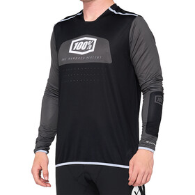 100% R-Core X DH Jersey Heren, black/white